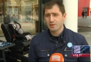 Promoting the use of car-seats to cut road risk for children in Georgia on Rustavi  2