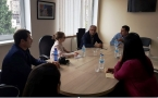 Meeting with the Head of Tbilisi Transport Department
